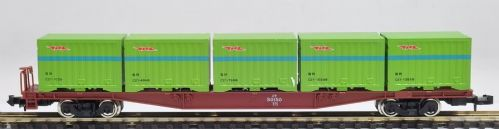 Tomix 2782 J.N.R. Container Wagon KOKI 50000 (with Continer)